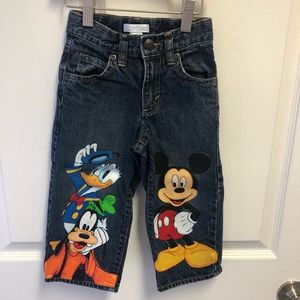 Old Navy jeans w/Disney characters